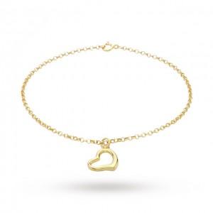 Bratara Gold Heart