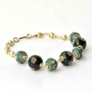 Brățară Handmade Jade Blossom