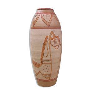 Vază de lut Tribe